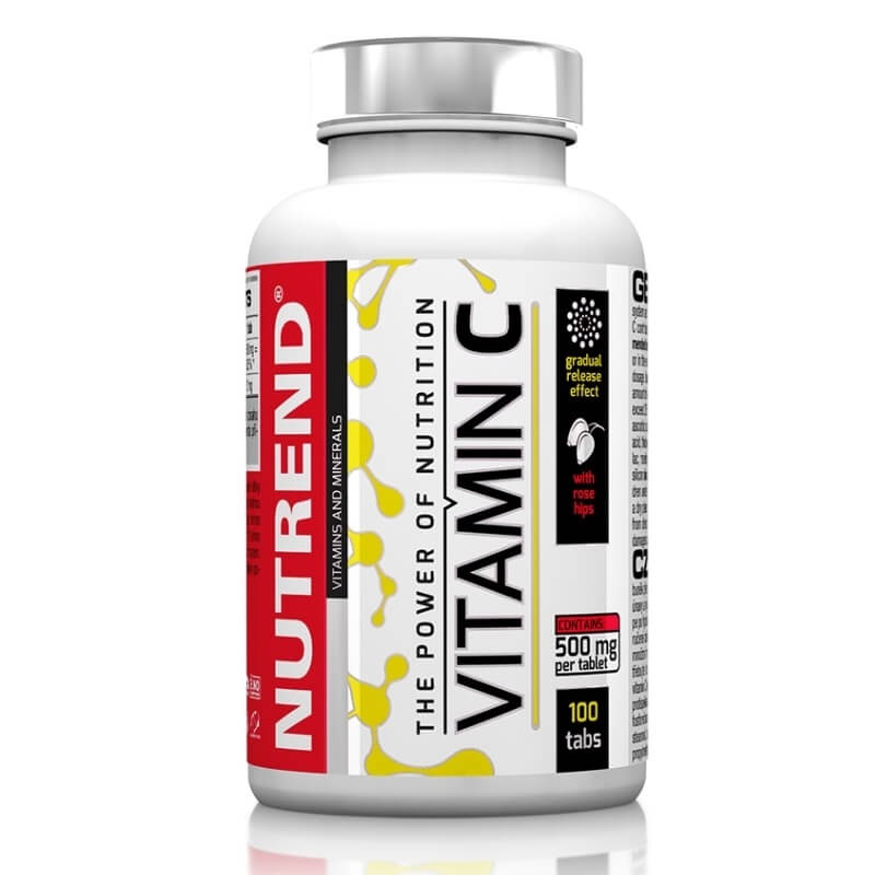 Nutrend Vitamin C with Rose Hips 100tbl