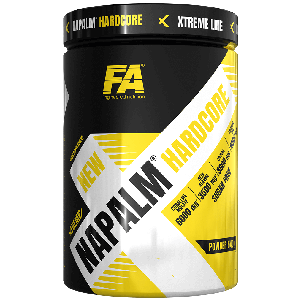 Fitness Authority Xtreme Napalm Hardcore 540g