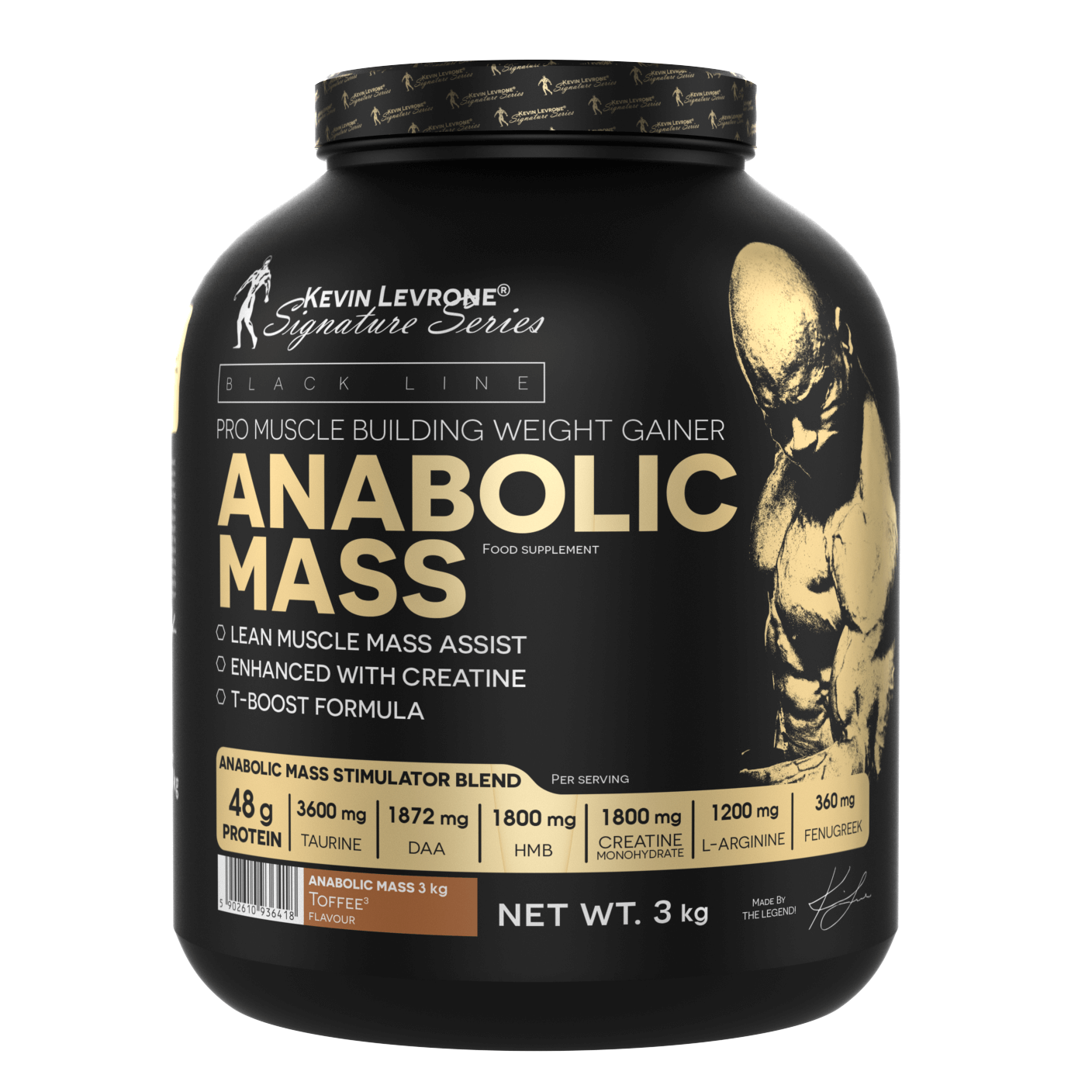 Kevin Levrone Anabolic Mass 3000g
