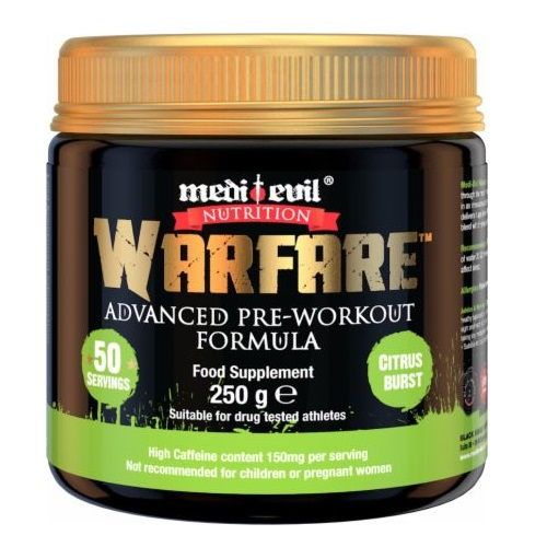 Medi Evil Warfare Pre-Workout 250g