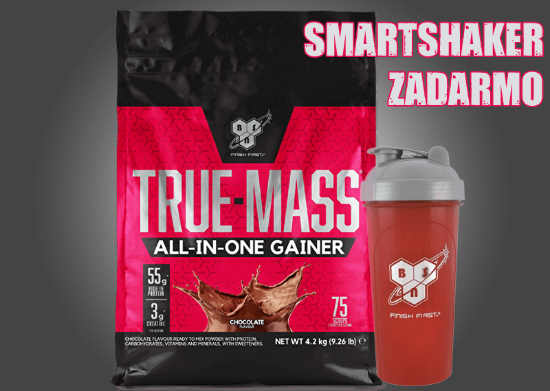 BSN True Mass All in One Gainer 4200g + darček