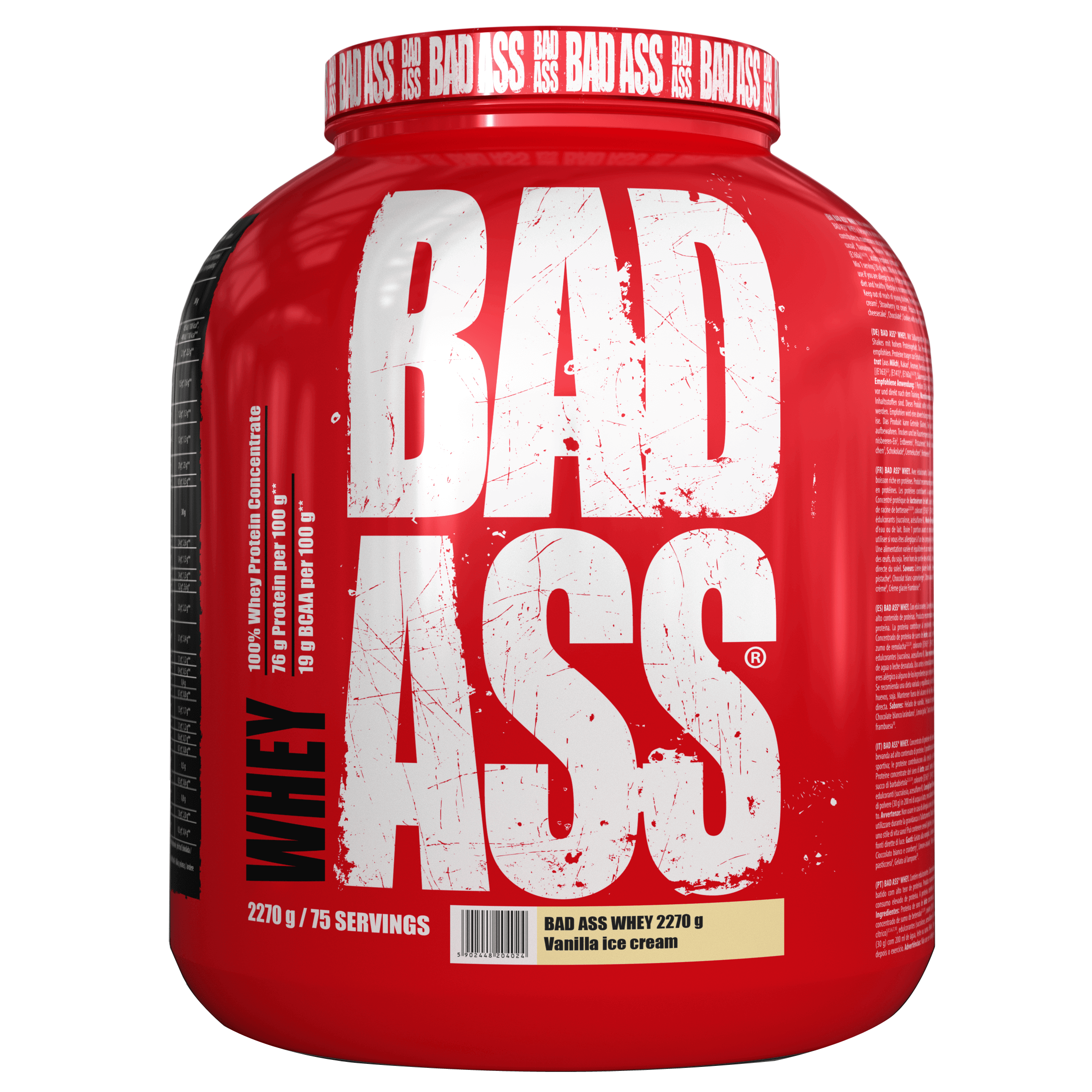 Bad Ass Whey 2270g
