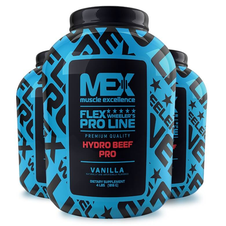 MEX Pure Hydro Beef Protein 1816g