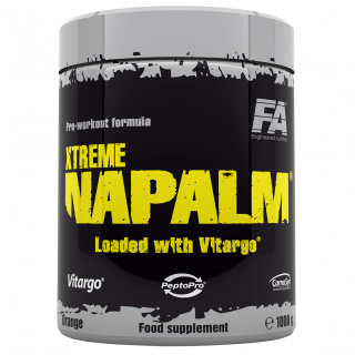 Fitness Authority Xtreme Napalm loaded with Vitargo 1000g