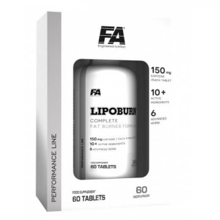Fitness Authority Lipoburn 60tbl