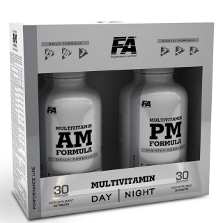 Fitness Authority Multivitamin AM-PM 180tbl