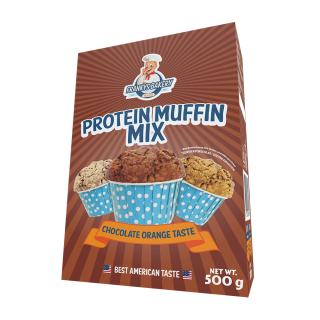 Frankys Bakery Protein Muffin Mix Chocolate Orange 500g