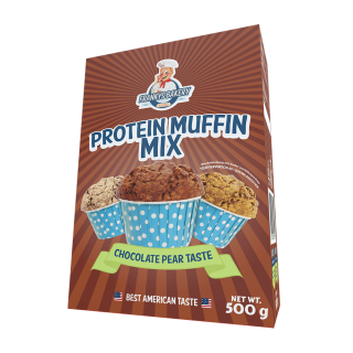 Frankys Bakery Protein Muffin Mix Chocolate Pear 500g