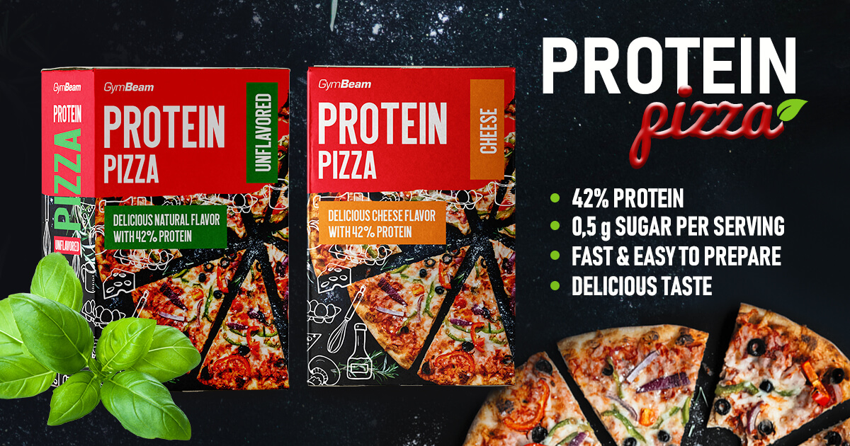 GymBeam proteinova pizza