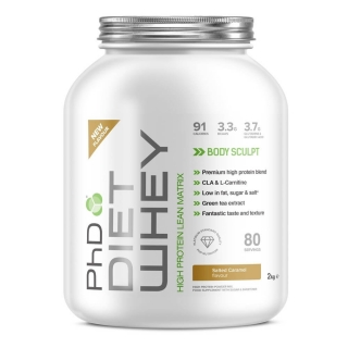 PhD Diet Whey Protein 2000g + 20% EXTRA (2400g)