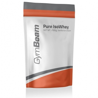 GymBeam Pure IsoWhey 2500g